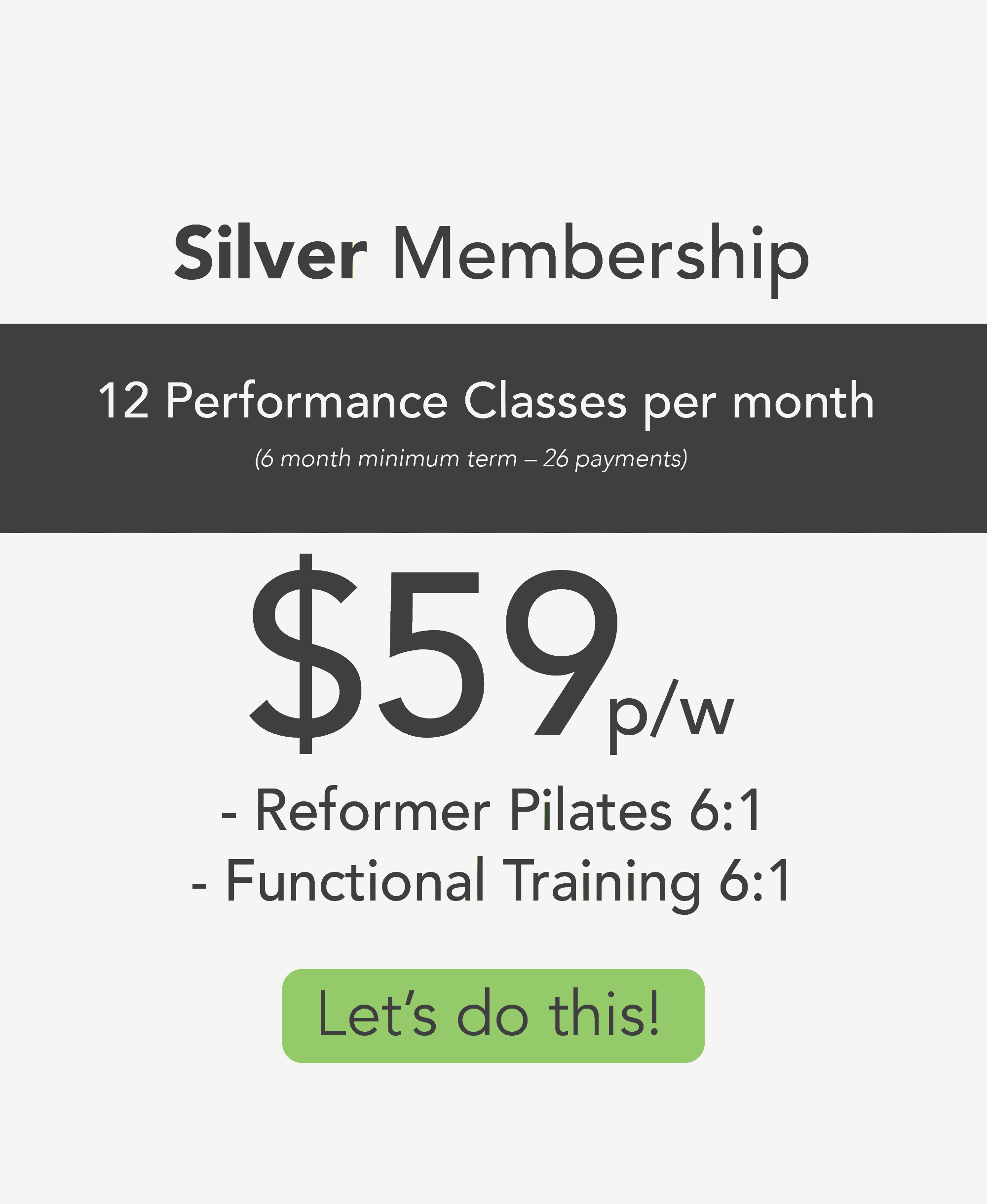 Forge Silver Membership